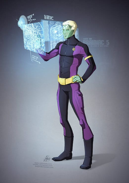 Brainiac 5 Dc Continuity Project